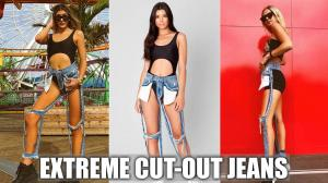 Extreme Cut-out Jeans and Why People Like Them image