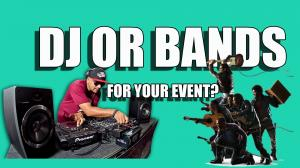 Should You Hire DJ or Bands for your event? image